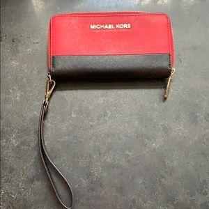 Michael Kira wallet/wristlet